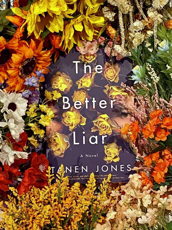 """The Better Liar"" is Tanen Jones' debut novel. Photo: TinaMarie Craven /Hearst Connecticut Media /"
