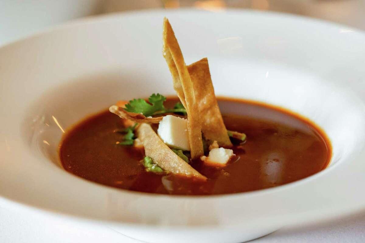 Chef Robert Del Grande's original tortilla soup lives at the Annie Café & Bar.