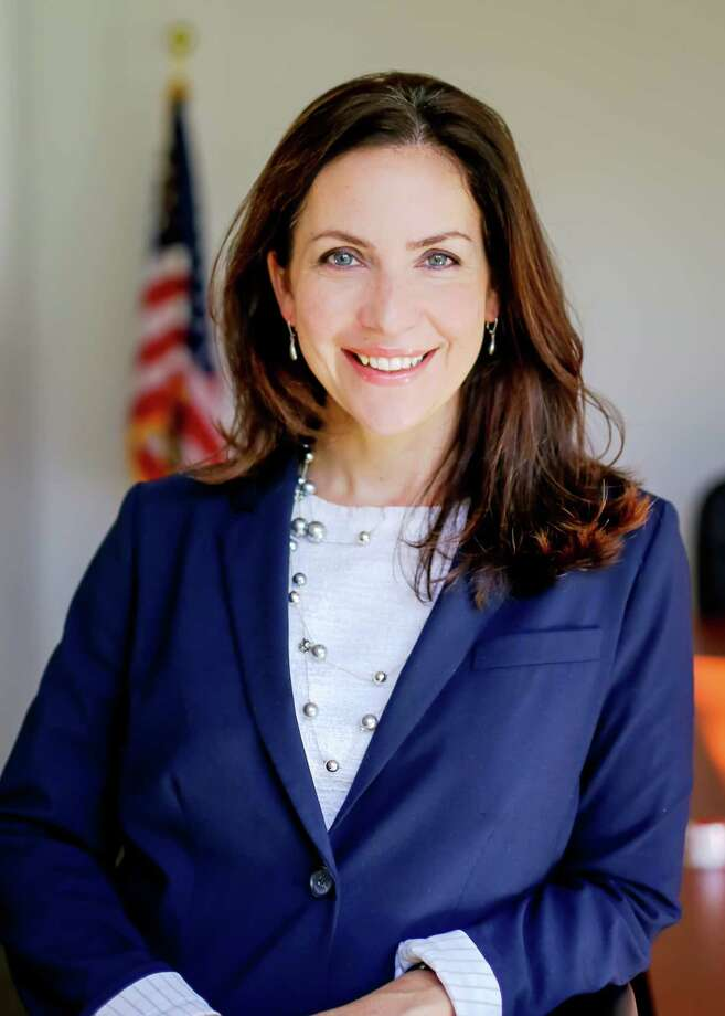 Shelby Schneider is the president and CEO at the Saratoga County Prosperity Partnership and hosted a virtual meeting with U.S. Congresswoman Elise Stefanik. Photo: Saratoga County Prosperity Partnership