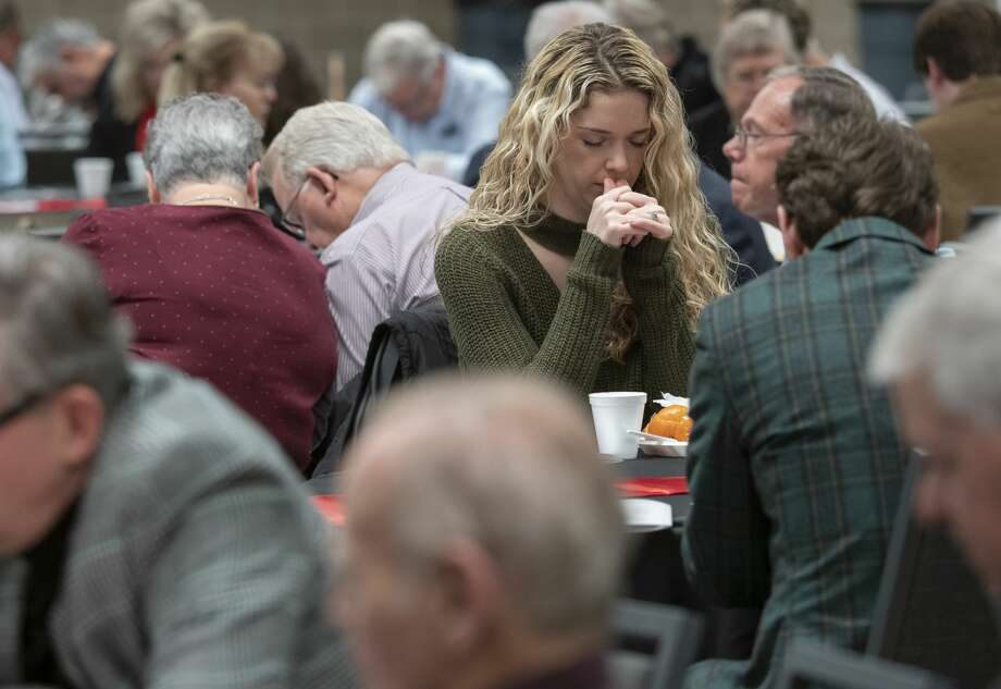 Midlanders come together 02/04/20 morning for the 2020 Permian Basin Prayer Breakfast. Tim Fischer/Reporter-Telegram Photo: Tim Fischer/Midland Reporter-Telegram