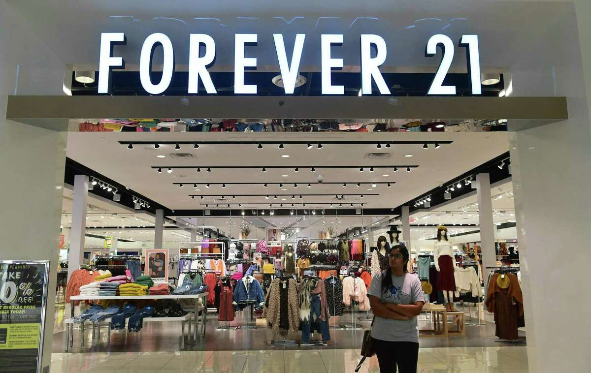 A Forever 21 store in Montebello, Calif. in September 2019, when the mall chain filed for Chapter 11 bankruptcy protection.