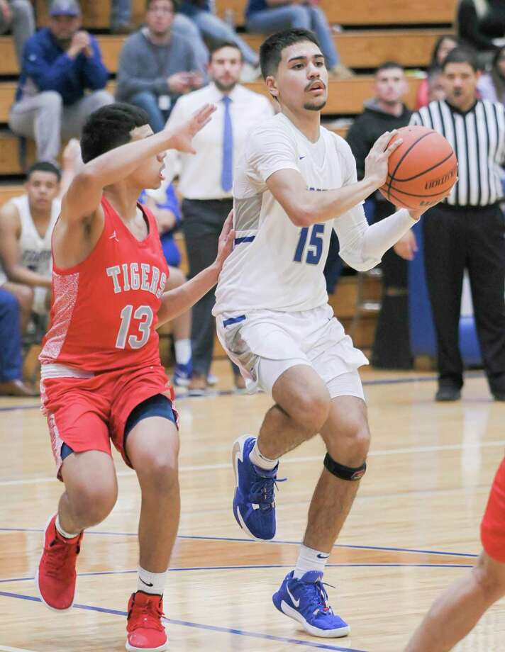 Jaime Jimenez and the Toros are currently fourth in the District 29-5A standings with a 4-4 league record. Photo: Danny Zaragoza /Laredo Morning Times