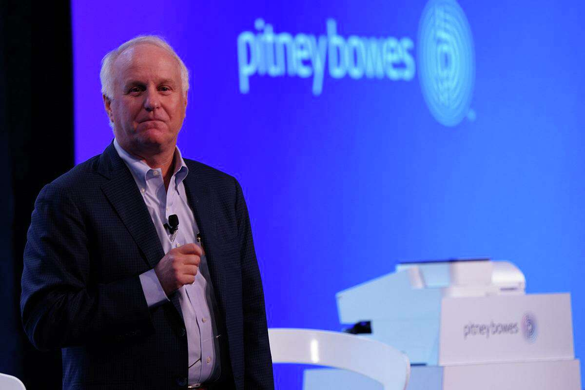 Pitney Bowes CEO and President Marc Lautenbach