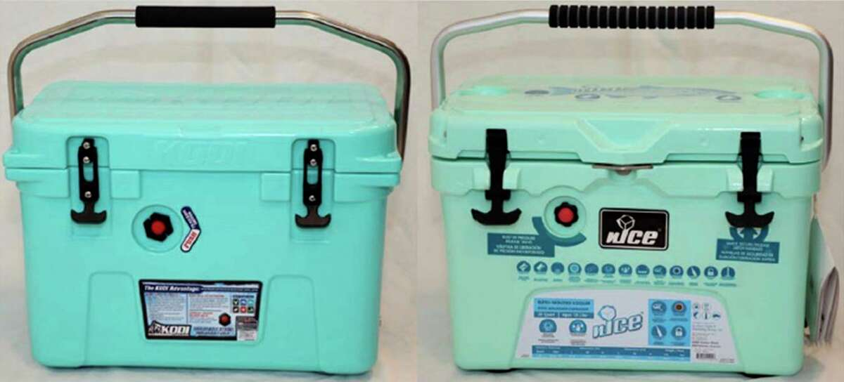 Kodi cooler In February, H-E-B alleged in a lawsuit that companies - including Home Depot - were infringing on patents for its Kodi cooler. H-E-B sought court orders recalling the alleged infringing coolers and directing the destruction of the containers as well as the plates and molds used to make them and all related advertising materials.