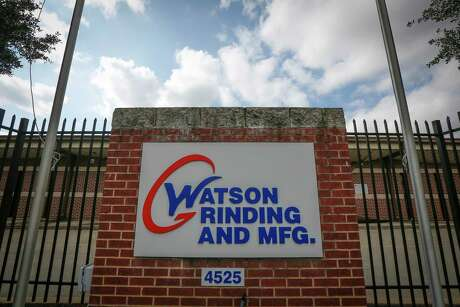 The Watson Grinding and Manufacturing plant Friday, Jan. 31, 2020, in Houston.