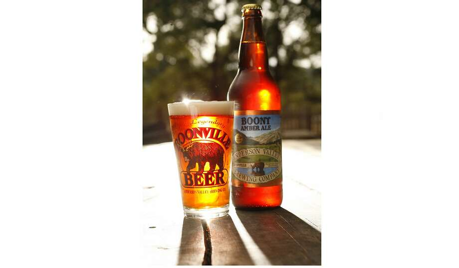 Boont Amber Ale was one of the original three beers produced by Anderson Valley Brewing in 1987. Photo: Craig Lee / The Chronicle 2006