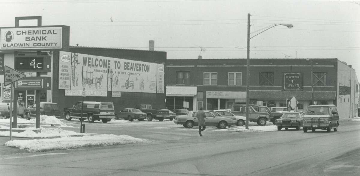 Downtown Beaverton. February 1992