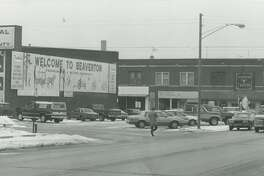 Downtown Beaverton. February 1992