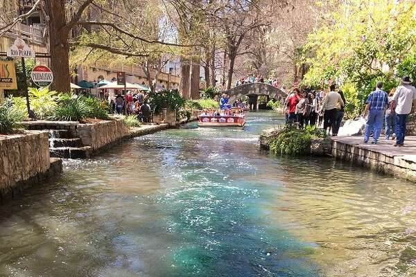 Since 1968, the water in the San Antonio River Walk has been dyed green to celebrate and honor St. Patrick's Day.