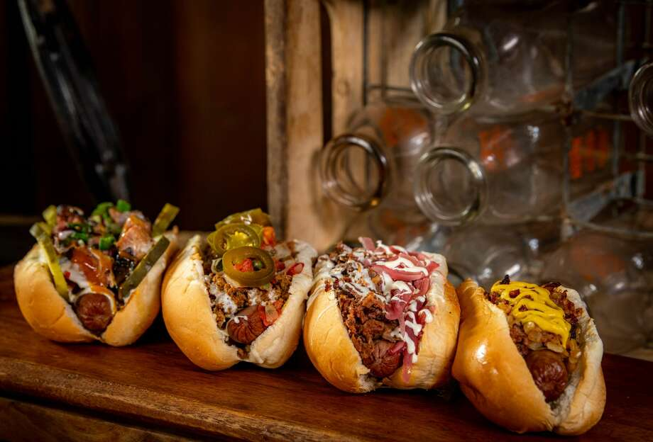 PHOTOS: A look at some of the concession items that will be available at Astros games this season The various hot dogs available at Minute Maid Park for Astros games during the 2020 season. Browse through the photos above for a look at food items coming to Minute Maid Park this season ... Photo: MICHAEL WYCKOFF