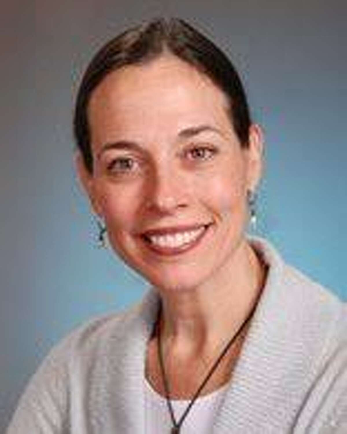 """Stamford Health cardiologist Dr. Evelyn Cusack gave members of the New Canaan Men's Club """"The Keys to a Healthy Heart"""" on Friday, February 7, 2020, at St. Mark's Episcopal Church."""