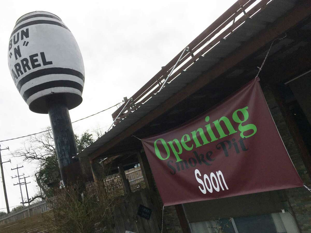The building that housed the smoker used for the meats at Bun 'N' Barrel is being converted by the owners into a new barbecue restaurant that will be called the Smoke Pit.