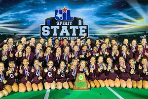 Cinco Ranch Cheelreaders competed in the NCA Lone Star Classic. For winning first place, the squad became state champions.