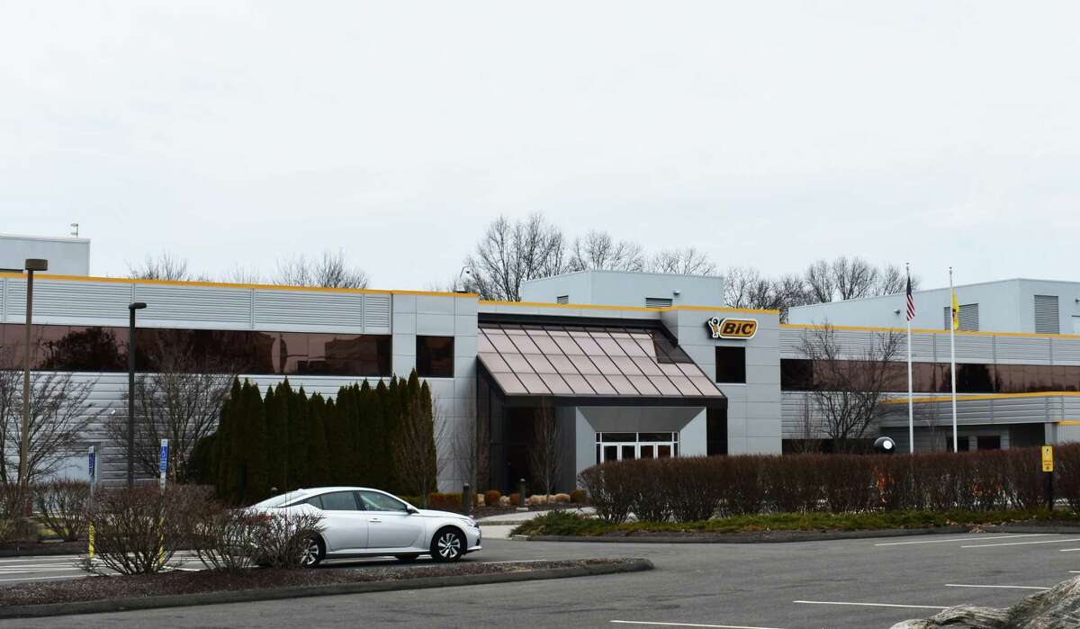 A file photo of Bic's U.S. headquarters in Shelton, Conn.