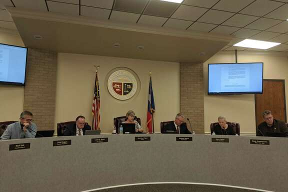 Tomball City Council members vote on a dangerous animal ordinance and other items during their Feb. 3 meeting.