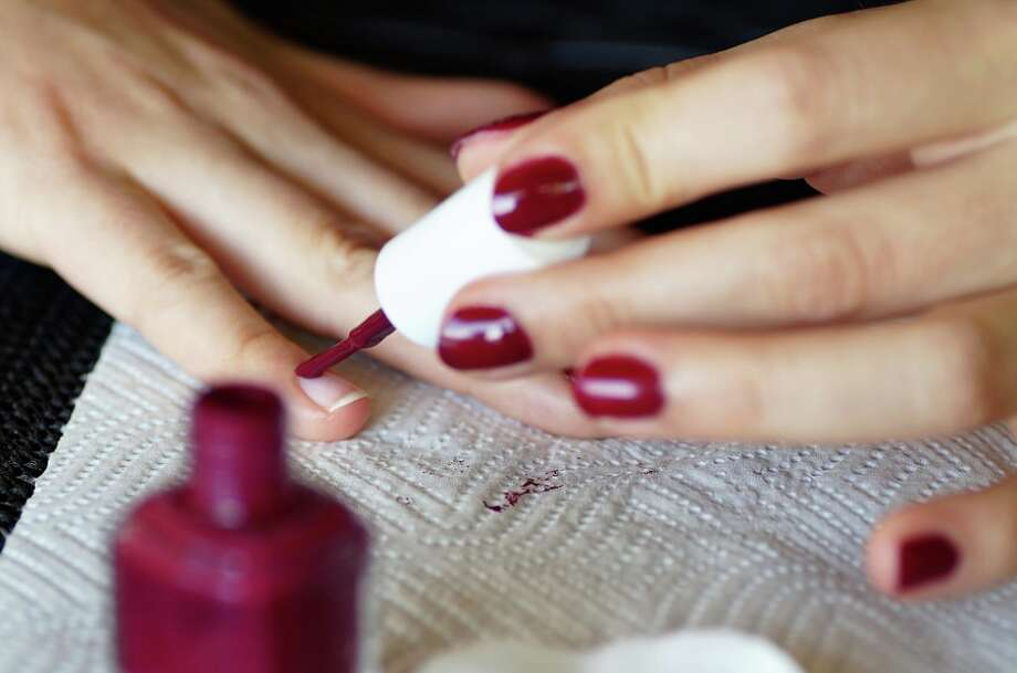 Painting your nails onboard a plane will likely tick off both flight attendants and fellow passengers. Photo: Pixabay / Ivabalk