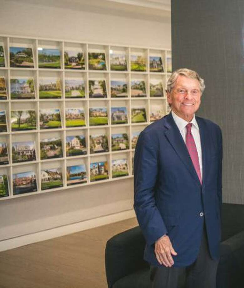 David Ogilvy, a longtime Greenwich real estate broker who most recently worked at Sotheby's International Realty, died Monday, Feb. 3, 2020 at 77 years old. Photo: File Photo