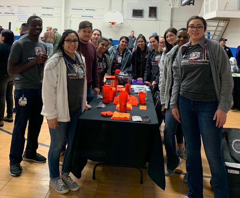 University of Texas of the Permian Basin nursing students are getting experience in the community by treating inmates at the Ector County Detention Center and riding along with the city of Odessa code enforcement team. Photo: Courtesy Photo