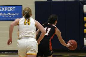 The Ubly girls basketball team improved to 12-1 on the season with a 49-37 win over host Bad Axe on Tuesday night.