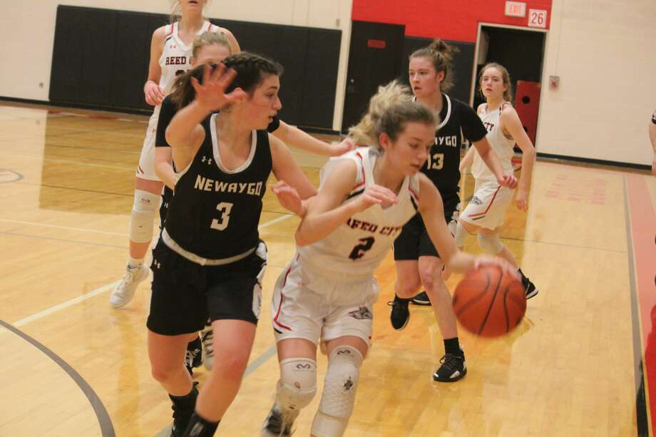 Newaygo was too much for Reed City in a 55-25 CSAA Gold girls win on Tuesday. Newaygo was too much for Reed City in a 55-25 CSAA Gold girls win on Tuesday. Photo: John Raffel