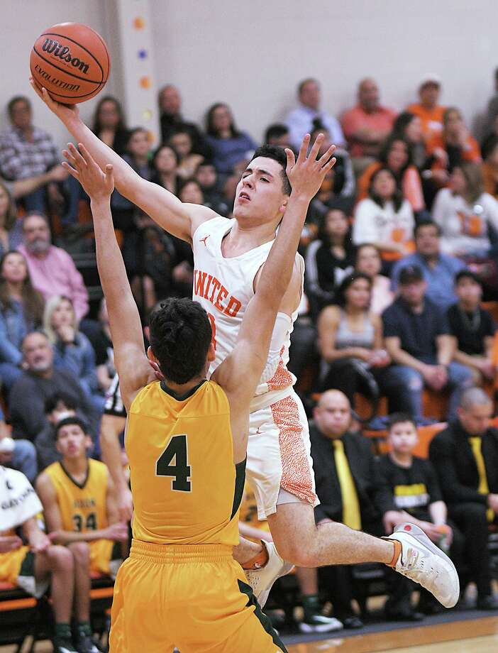 United's Alex Idrogo was named the co-MVP in District 29-6A, and Nixon's Juan Marines received Defensive Player of the Year honors. Photo: Cuate Santos / Laredo Morning Times File / Laredo Morning Times