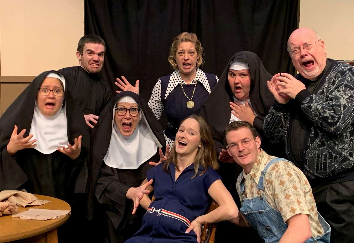 """The Phoenix Stage Company's production of """"Drinking Habits 2, Caught in the Act ,"""" in Oakville runs on weekends through Feb. 22."""