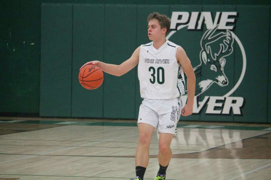 Pine River's Lane Ruppert led his team in scoring against Lake City with 18 points. (Herald Review file photo)