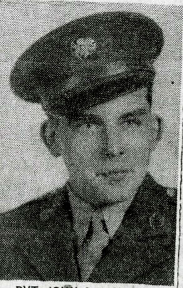 John Janicki, of Manistee, as he appears in his obituary, will be honored as part of the Faces of Margraten, a program looking to put facesto the names of soldiers buried in Margraten. (Courtesy photo/Manistee County Historical Museum)