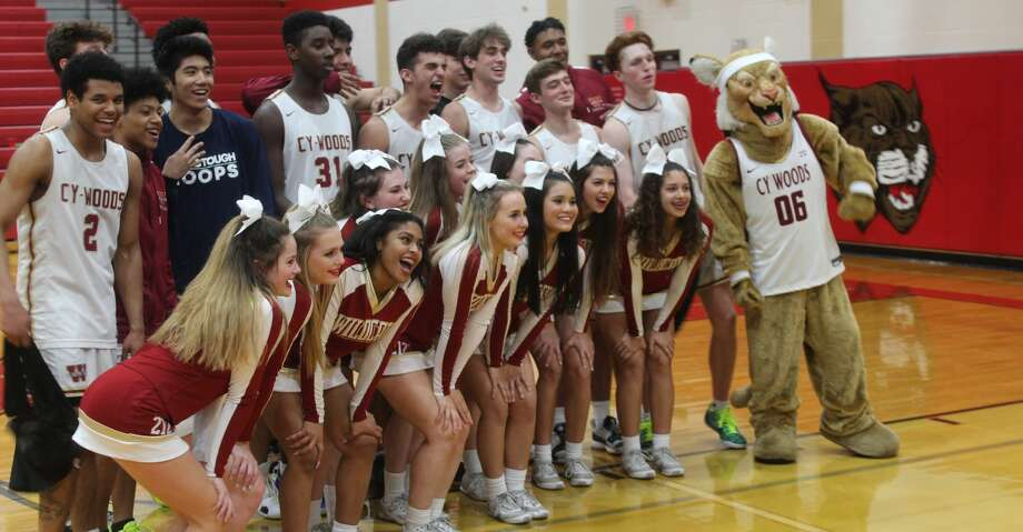 Cy Woods rallied to beat Cy Park 48-44 in District 14-6A, Feb. 4, at Cy Woods High School. Photo: Staff Photo/Alvaro Montano