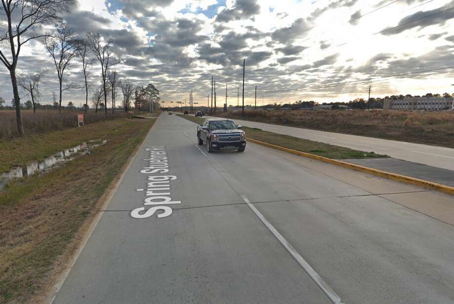 The 2000 block of Spring Stuebner is seen on Google Maps Street View in December 2018. Photo: Google Maps