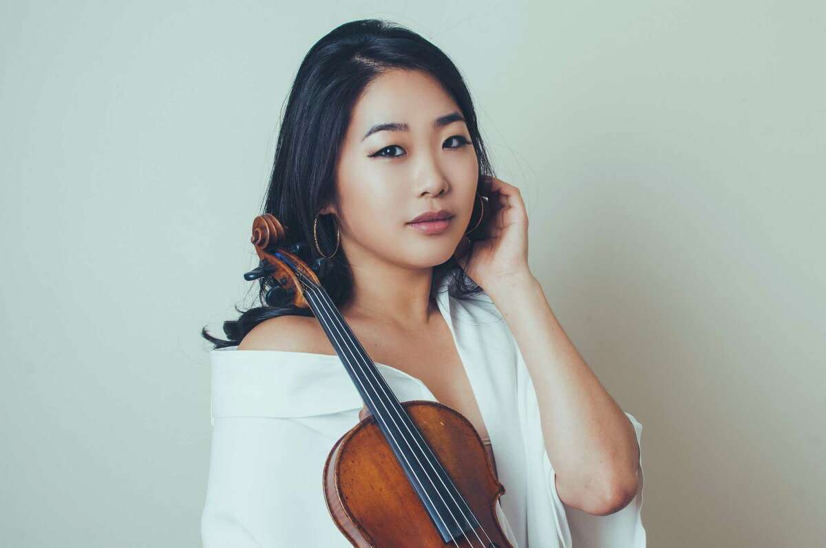 Kristin Lee, violin, will play at the Feb. 14 concert in Guilford.