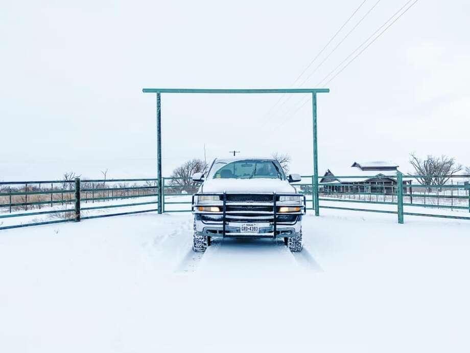 Knox City, Texas Photo courtesy: Stefany Rowland/Facebook Photo: Photo Courtesy: Stefany Rowland/Facebook