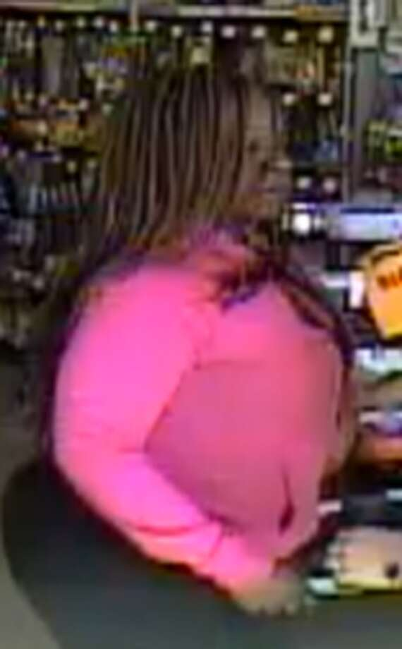 San Antonio police are asking for help in identifying an alleged serial candle thief who they said injured a store employee before fleeing on a bike. Photo: Crime Stoppers