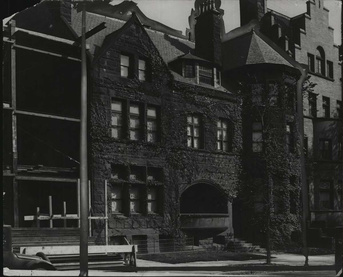Russell Sand apartment house 397 State St. in Albany in 1930.
