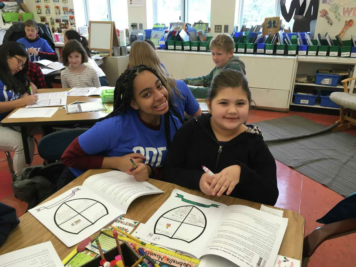 The Stamford Public Education Foundation received a grant from the Pitney Bowes Foundation in support of its Stamford Mentoring Program, which serves students in grades 3 through 12.