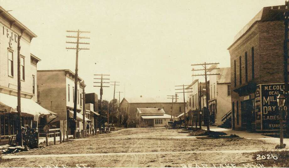 Downtown Bear Lake had a similar look to it in the very early 1900s