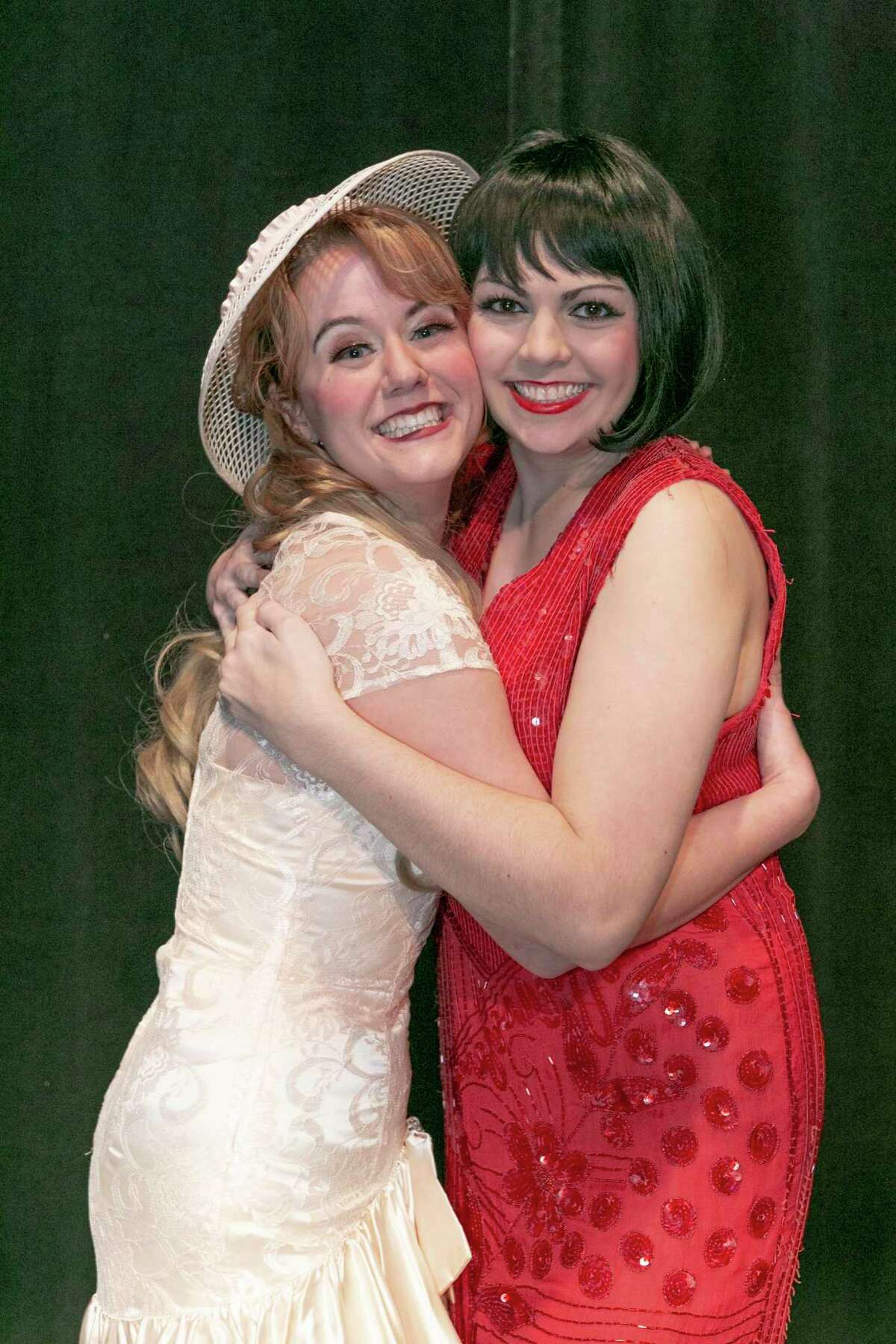 Madison Mapes as Miss Dorothy and Lizzie Camp as Millie Dillmount in Stage Right's