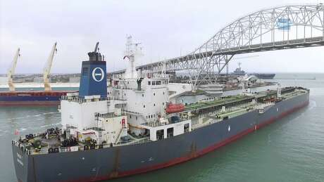A Bahamas-flagged tanker named the Theo T left NuStar Energy's Corpus Christi terminal on Dec. 31, 2015 with the first U.S. crude oil export shipment in more than four decades. The tanker arrived in Marseilles, France on Jan. 20, 2016.