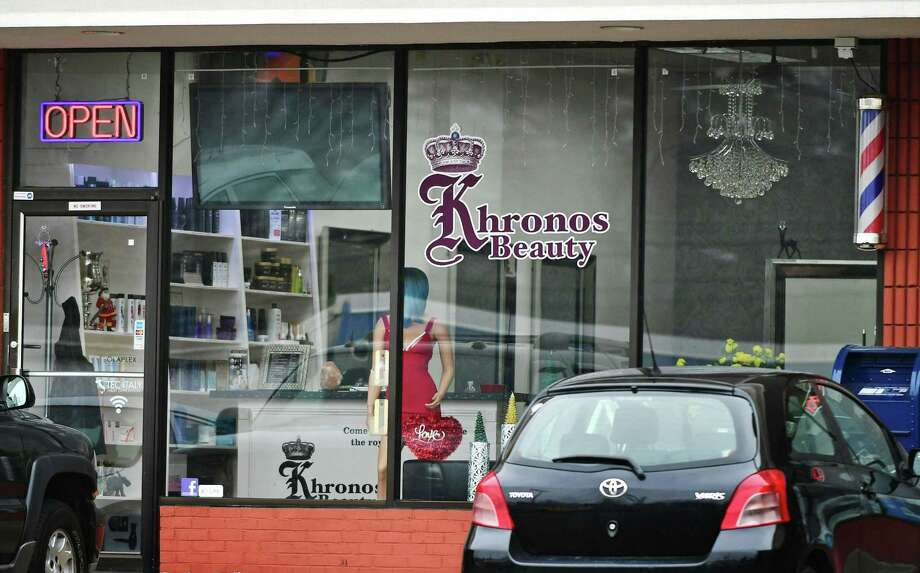 The Khronos Beauty Salon at 250 Westport Ave Wednesday, February 5, 2020, in Norwalk, Conn. Karoll Angelina Jurado-Hernandez, 46, an employee of Khronos Beauty Salon, was charged with second-degree sexual assault and risk of injury to a minor for an incident that allegedly occurred in the salon. Photo: Erik Trautmann / Hearst Connecticut Media / Norwalk Hour