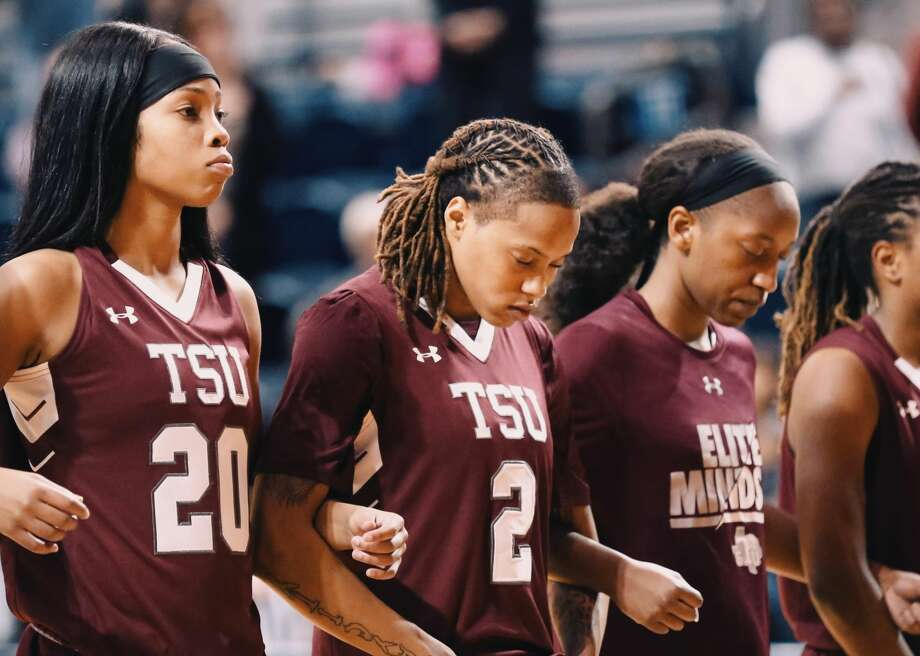 TSU's Niya Mitchell (2) was one of several players who received suspensions for their roles in the post-game brawl involving Texas Southern and Alabama State. Photo: Mikol Kindle Jr./TSU Athletics