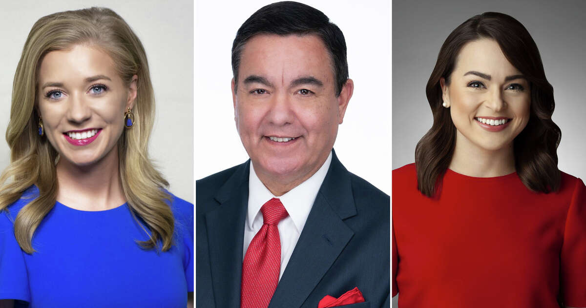 Click through the slideshow to see the TV meteorologists in San Antonio