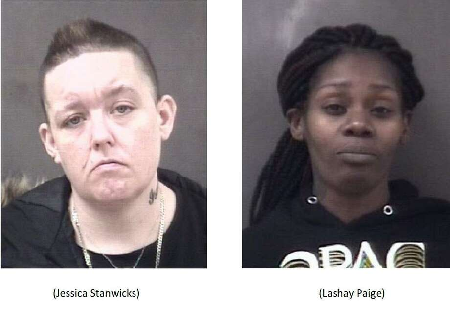 Two women were accused of attempting to steal $1,500 of seafood from the Milford ShopRite on Feb. 4, 2020. Photo: Milford Police Department / Contributed