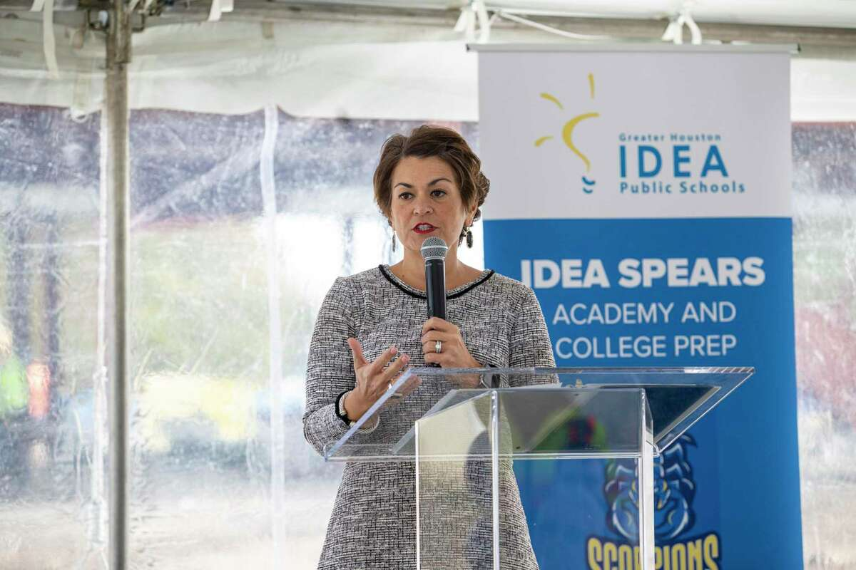 IDEA Public Schools CEO and Superintendent JoAnn Gama, pictured here in 2019, said the charter network's leaders were not surprised that the Texas Education Agency did not grant its full expansion request this year in light of scrutiny over its spending practices.