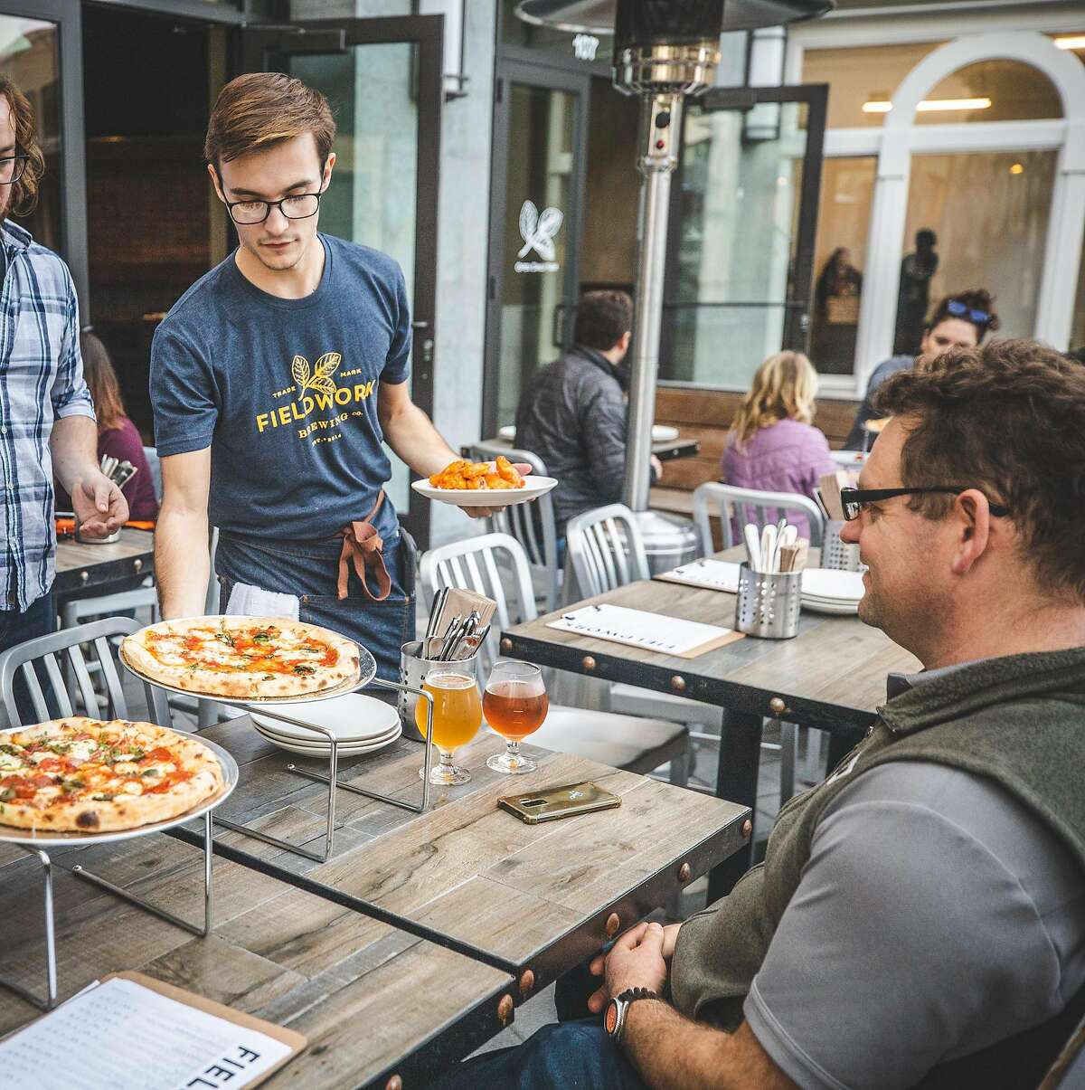 Fieldwork Brewing Co. just opened a taproom in Corte Madera, its seventh in Northern California.