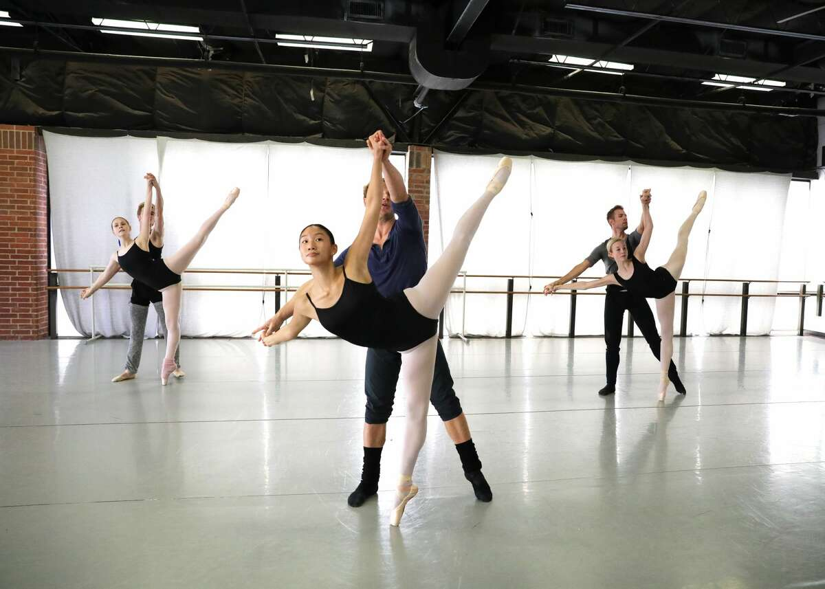 """Behind the Scenes: Midland Festival Ballet dancers rehearse for its new show """"Iconic."""""""