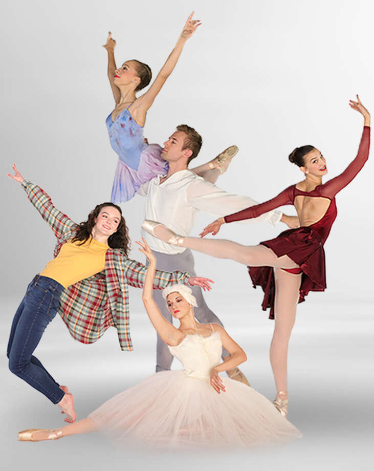 """Midland Festival Ballet's """"Iconic"""" is a new show which showcases traditional ballet to more contemporary. Photo: Courtesy Midland Festival Ballet"""