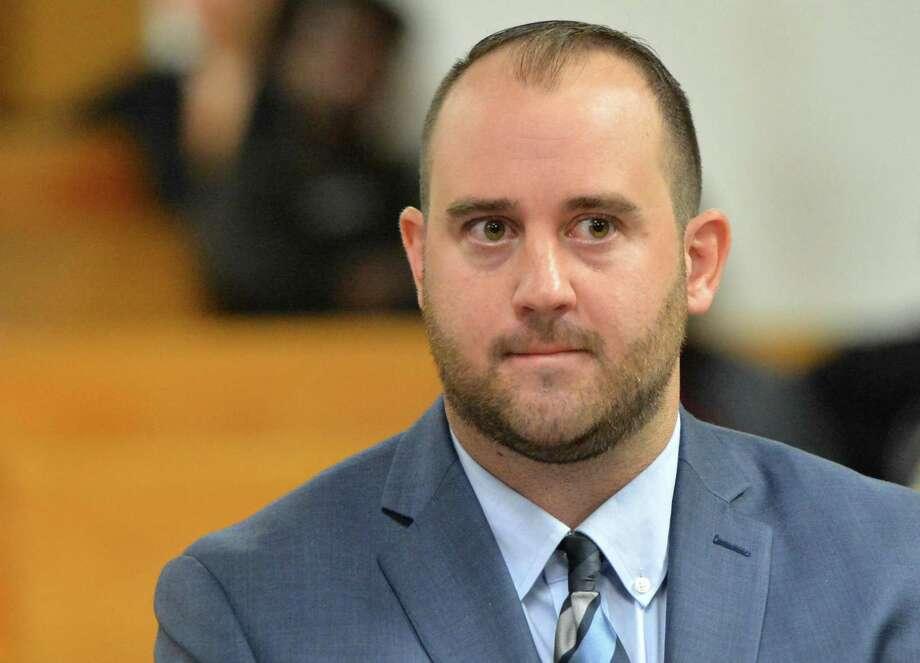 Kyle Lyddy during an appearance in Norwalk Superior Court on Monday, Oct. 1, 2018. Photo: Alex Von Kleydorff / Hearst Connecticut Media / Norwalk Hour