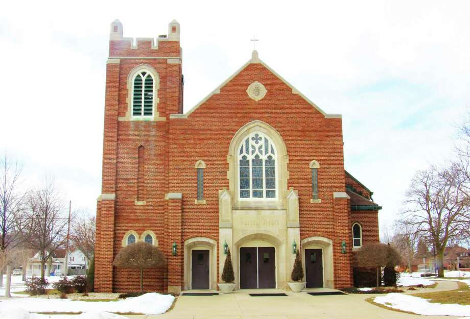 Father T.J. Fleming, Pastor and staff of St. Hubert Parish and the Bad Axe Knights of Columbus will host the very first Couples Valentine's Dinner at Oswald Hall on Saturday, Feb. 8, 2020. (Sara Eisinger/Huron Daily Tribune)