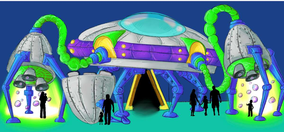 Houston is getting an out-of-this-world art museum featuring more than 40 alien-themed rooms. Seismique, a