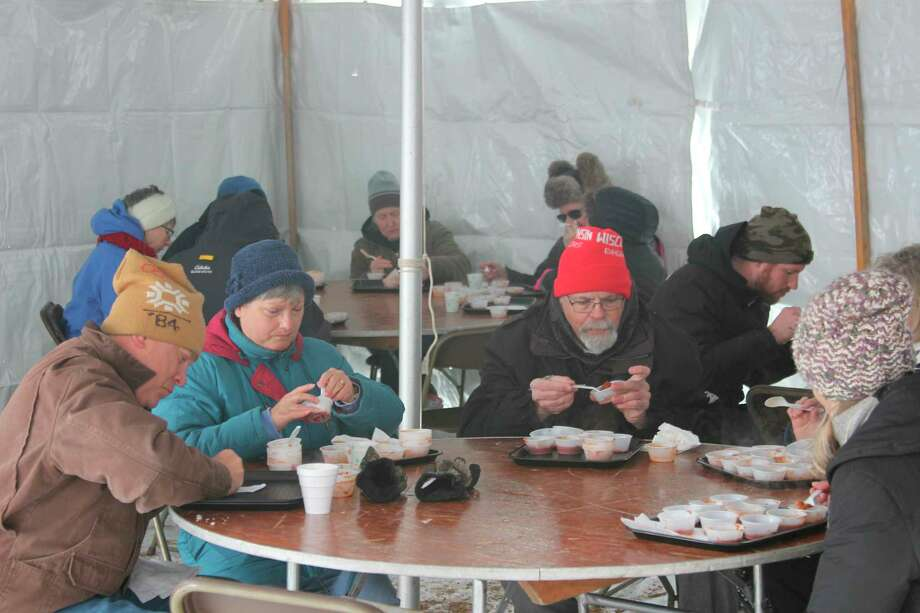 The Chili Cook Off is one of the more popular events at Winterfest in Beulah, where visitors get to sample chili made by area restaurants and individuals. This year's event is set for Saturday. (File Photo)
